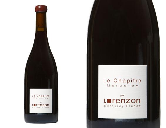 DOMAINE LORENZON  MERCUREY LE CHAPITRE 2016