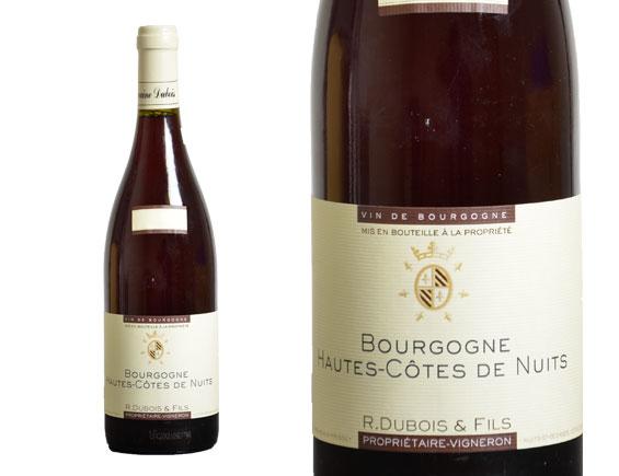 DOMAINE R DUBOIS & FILS HAUTES CÔTES DE NUITS ROUGE 2016