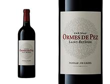 CHÂTEAU LES ORMES DE PEZ rouge 2003, Cru Bourgeois  Exceptionnel