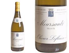 MEURSAULT 1er CRU ''LES TILLETS'' 2004 blanc