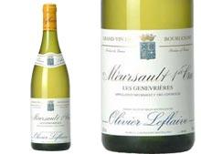 OLIVIER LEFLAIVE MEURSAULT 1er CRU GENEVRIÈRES 2004 blanc