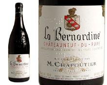 CHÂTEAUNEUF DU PAPE ''La Bernardine'' 2004 red