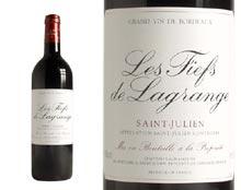 LES FIEFS DE LAGRANGE rouge 1995, Second vin du Château Lagrange