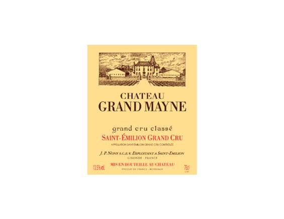 CHÂTEAU GRAND MAYNE rouge 1993