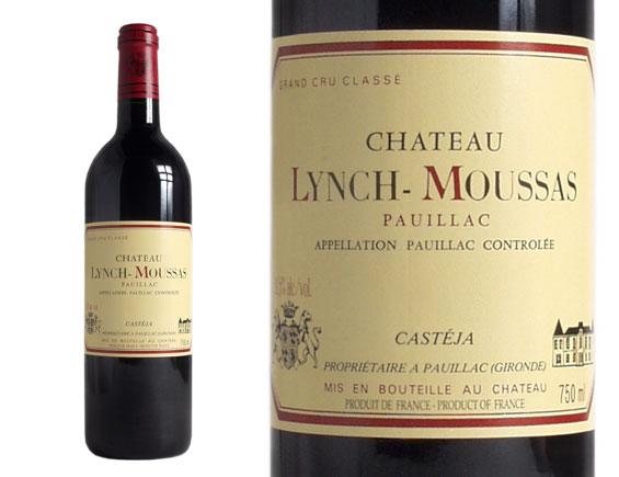 CHÂTEAU LYNCH-MOUSSAS rouge 1999, Cinquième Cru Classé en 1855