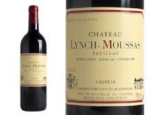 CHÂTEAU LYNCH-MOUSSAS rouge 1998, Cinquième Cru Classé en 1855