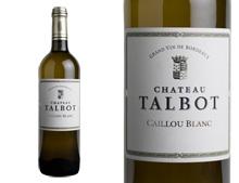 CAILLOU BLANC DE CHATEAU TALBOT 2020