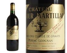 CHÂTEAU LATOUR MARTILLAC rouge 1998, Cru Classé de Graves