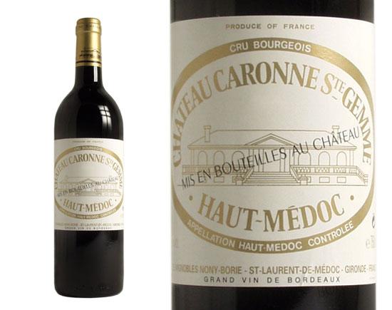 CHÂTEAU CARONNE-SAINTE-GEMME rouge 2005