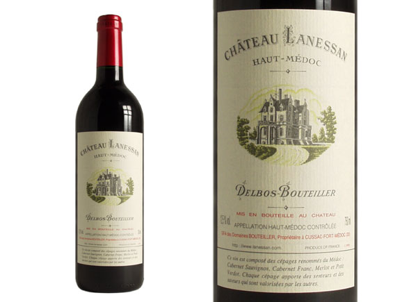 Ch teau lanessan red 2005 cru bourgeois for Chateau lanessan