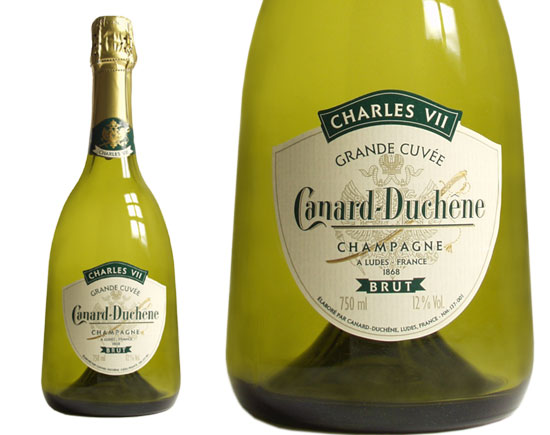 champagne canard duchene grande cuv e charles vii brut. Black Bedroom Furniture Sets. Home Design Ideas