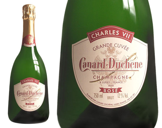 champagne canard duchene grande cuv e charles vii ros. Black Bedroom Furniture Sets. Home Design Ideas