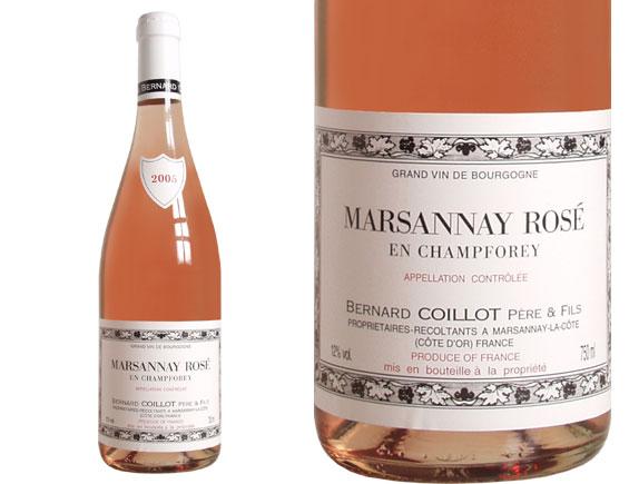 Domaine de Coillot MARSANNAY ROSE 2005