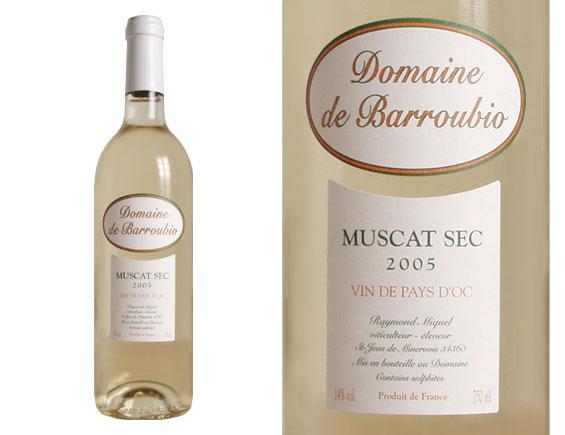 Domaine de Barroubio Vin de Pays d Oc Muscat sec