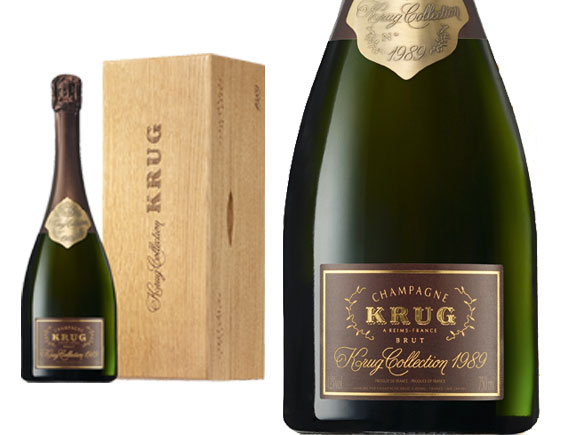 CHAMPAGNE KRUG COLLECTION 1985