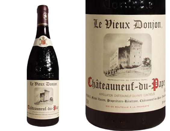 LE VIEUX DONJON CHÂTEAUNEUF DU PAPE 2005 rouge