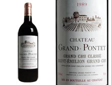 CHÂTEAU GRAND PONTET rouge 1989