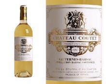 CHÂTEAU COUTET blanc liquoreux 1997, Premier Cru Classé en 1855