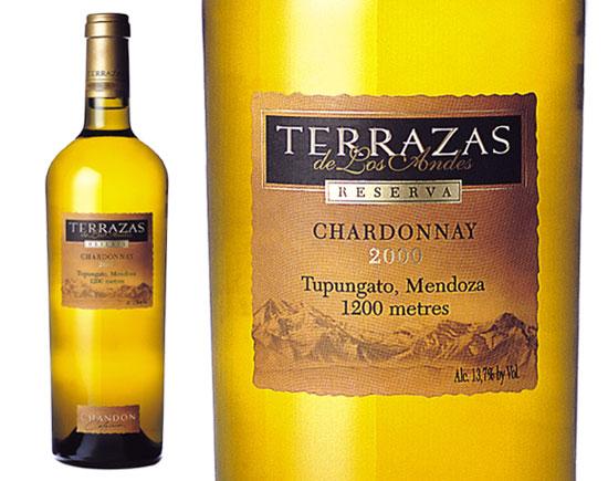 Terrazas De Los Andes Reserva Chardonnay Blanc 2000