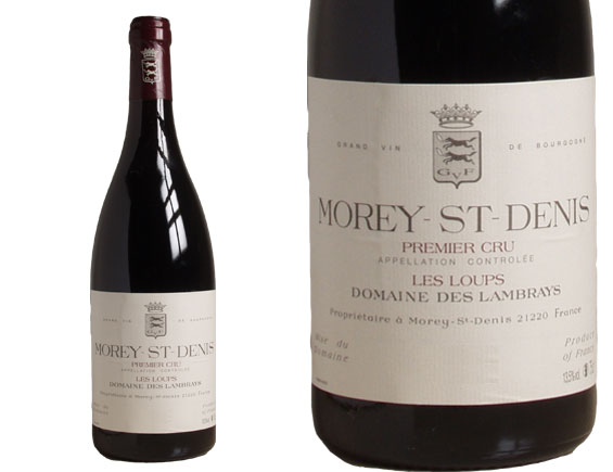 clos des lambrays morey saint denis 1er cru les loups rouge 2007. Black Bedroom Furniture Sets. Home Design Ideas