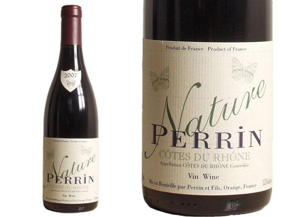 PERRIN RESERVE Côtes du Rhône Nature Rouge 2007