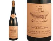 ZIND-HUMBRECHT GEWÜRZTRAMINER CLOS WINDSBUHL 2004