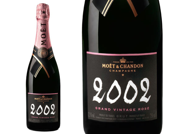 Mo t et chandon grand vintage rose 2002 champagne wine of champagne - Seau a champagne moet et chandon ...